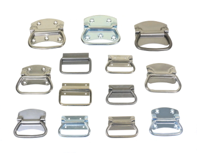 Steel and Stainless Steel Chest Handles