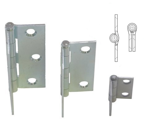 Mortise Mount Butt Hinges