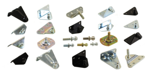 Gas Spring Mounting Hardware