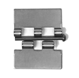Plain Steel Butt Hinges, Removable Pin