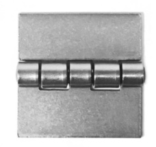 Plain Steel Square Butt Hinges