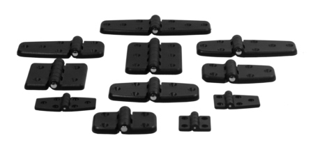 Introducing the New Line of Plastic Hinges