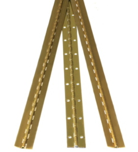 Solid Brass Continuous Hinges