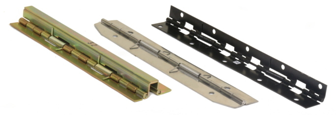 Spring Loaded Piano Hinges - Continuous Hinges